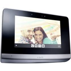 Bezdrôtový domové videotelefón Somfy V500 2401458, hliník, čierna
