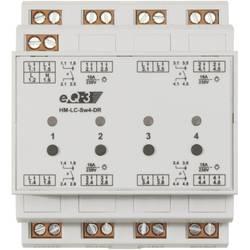 Bezdrôtový spínač na DIN lištu HomeMatic HM-LC-Dim1T-CV, 4 kanály