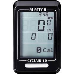 Bezkáblový cyklocomputer Alatech Cyclaid 10 s Bluetooth