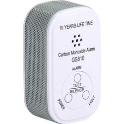 Detektor oxidu uhoľnatého oxidu uhoľnatého (CO) vr. batérie so životnosťou 10 rokov Elro Pro EL-1001, na batérie