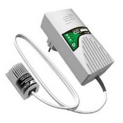 Detektor úniku oxidu uhličitého (CO2) s externým senzorom Schabus 300252, 230 V