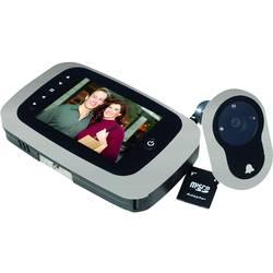 Digitálny dverné kukátko s LCD displejom Basi TS 750 silber 6800-0060