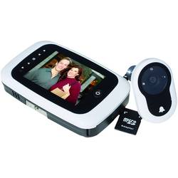 Digitálny dverné kukátko s LCD displejom Basi TS 750 weiß 6800-0062