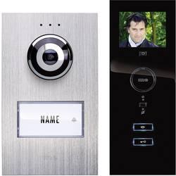 Káblový domovej telefón m-e modern-electronics strieborná, čierna
