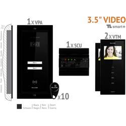 Káblový video dverový telefón Bellcome VKM.P2FR.T3S4.BLB04
