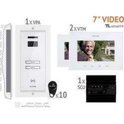 Káblový video dverový telefón Bellcome VKM.P2FR.T7S4.BLW04