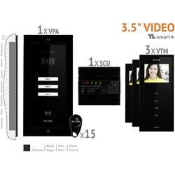 Káblový video dverový telefón Bellcome VKM.P3FR.T3S4.BLB04