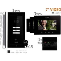 Káblový video dverový telefón Bellcome VKM.P3FR.T7S4.BLB04