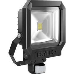 LED LED vonkajšie osvetlenie ESYLUX AFL SUN LED30W 3K sw pevne zabudované LED osvetlenie, 28 W, čierna