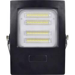 LED vonkajšie osvetlenie DioDor Slim DIO-FL50W-B Slim, 50 W, neutrálne biela, čierna