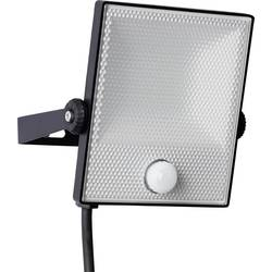LED vonkajšie osvetlenie s PIR senzorom Brilliant Dryden G96331/06, 20 W, neutrálne biela, čierna