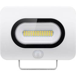 LED vonkajšie osvetlenie s PIR senzorom Goobay Slim 38707, 20 W, neutrálne biela, biela