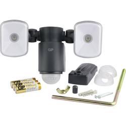 LED vonkajšie osvetlenie s PIR senzorom GP Batteries RF2.1 810SAFEGUARDRF2.1