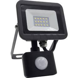 LED vonkajšie osvetlenie s PIR senzorom Megatron ispol® Mini MT69061, 10 W, neutrálne biela, čierna