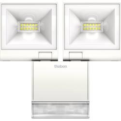 LED vonkajšie osvetlenie s PIR senzorom Theben theLeda S20 W WH 1020933, 20 W, biela, biela