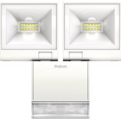 LED vonkajšie osvetlenie s PIR senzorom Theben theLeda S20 WH 1020923, 20 W, biela, biela