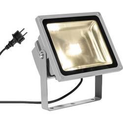 LED vonkajšie osvetlenie SLV Beam 1001636, 30 W, teplá biela, striebornosivá