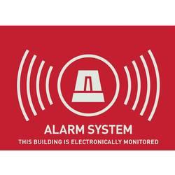 Nálepka Zabezpečené alarmom ABUS AU1315