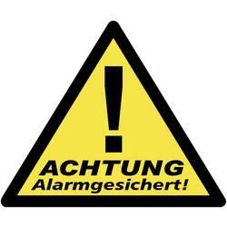 Nálepka Zabezpečeno alarmem 40201