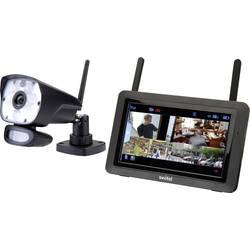 Sada bezpečnostné kamery Switel 4-kanálová, max. dosah 300 m