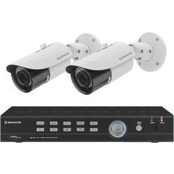 Sada bezpečnostnej kamery Monacor AXZ-204BVM