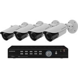 Sada bezpečnostnej kamery Monacor AXZ-408BVM