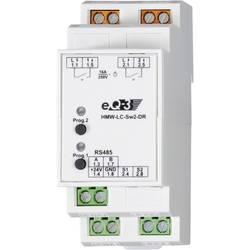 Spínač RS485 na DIN lištu Homematic HMW-LC-Sw2-DR 76801 2-kanálová