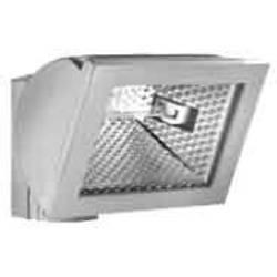 Vysokonapäťová halogénová lampa vonkajšie svietidlo ESYLUX AF S 300 ed nerezová oceľ