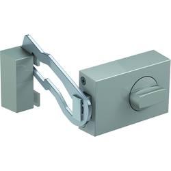 Doplnkový dverný zámok s blokovaným oblúkom Basi 1306-0208, optika ušľachtilej ocele
