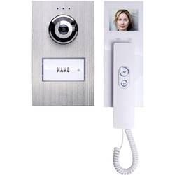 Káblový domovej telefón m-e modern-electronics strieborná